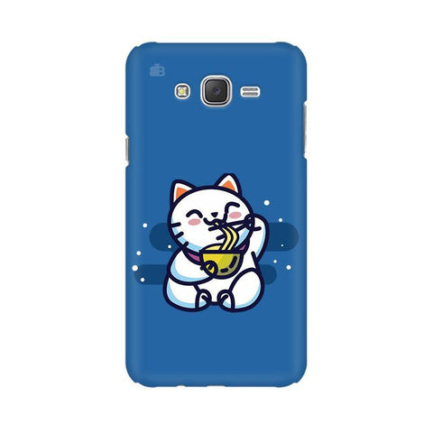 KItty eating Noodles Samsung J1 Phone Cover