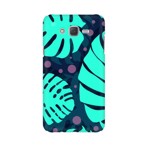 Tropical Leaves Pattern Samsung J1 Phone Cover