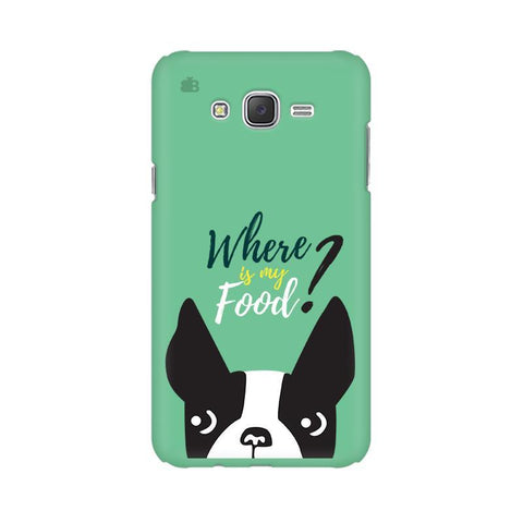 Where is my Food Samsung J1 Phone Cover