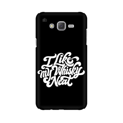 Whiskey Neat Samsung J1 Phone Cover