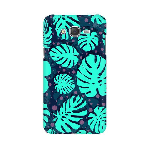 Tropical Leaves Pattern Samsung J2 2016 Phone Cover
