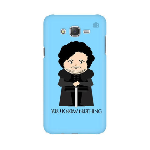 You Know Nothing Samsung J2 2016 Phone Cover
