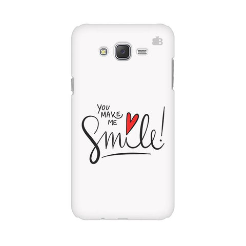 You make me Smile Samsung J2 2016 Phone Cover