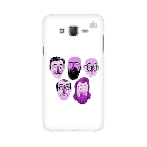 5 Bearded Faces Samsung J2 Phone Cover