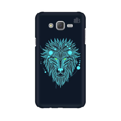 Abstract Art Lion Samsung J2 Phone Cover