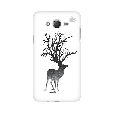 Abstract Deer Samsung J2 Phone Cover