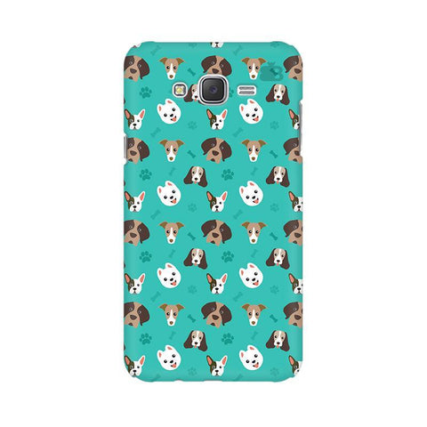 Doggie Pattern Samsung J2 Phone Cover