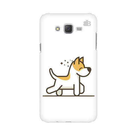 Happy Puppy Samsung J2 Phone Cover