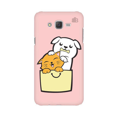 Kitty Puppy Buddies Samsung J2 Phone Cover
