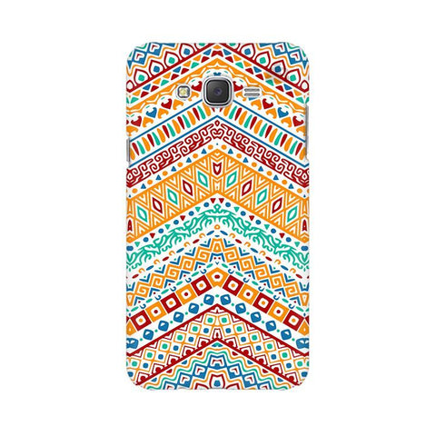 Wavy Ethnic Art Samsung J2 Phone Cover
