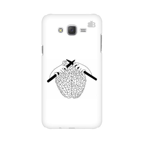 Weaving Brain Samsung J2 Phone Cover