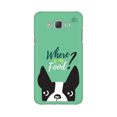 Where is my Food Samsung J2 Phone Cover