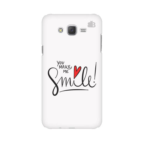 You make me Smile Samsung J2 Phone Cover