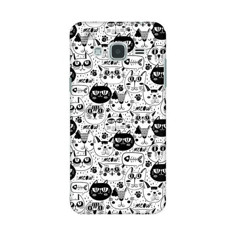 Cute Cats Pattern Samsung J3 2016 Phone Cover