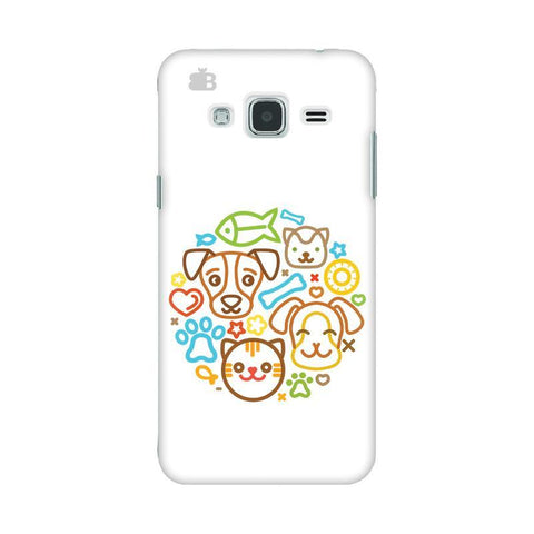 Cute Pets Samsung J3 2016 Phone Cover