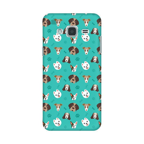 Doggie Pattern Samsung J3 2016 Phone Cover