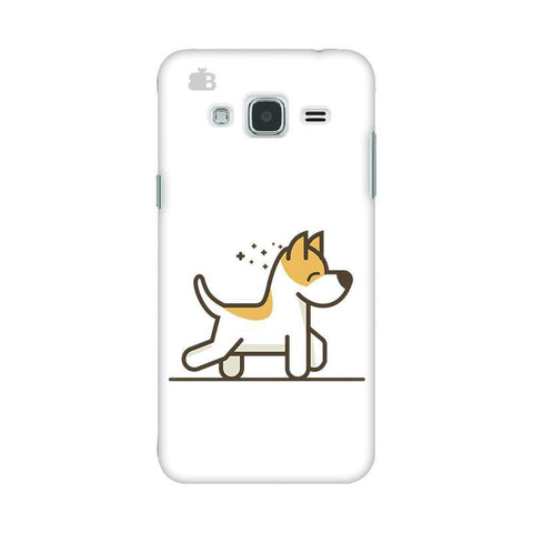 Happy Puppy Samsung J3 2016 Phone Cover
