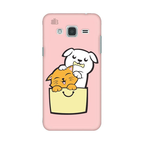 Kitty Puppy Buddies Samsung J3 2016 Phone Cover