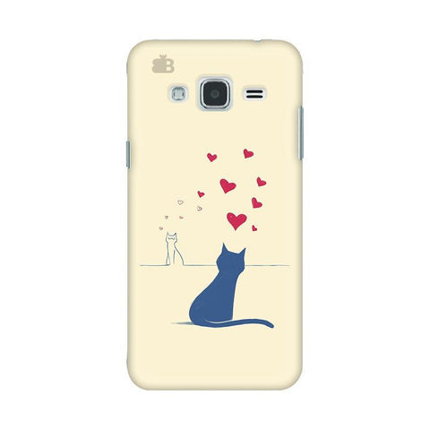 Kitty in Love Samsung J3 2016 Phone Cover