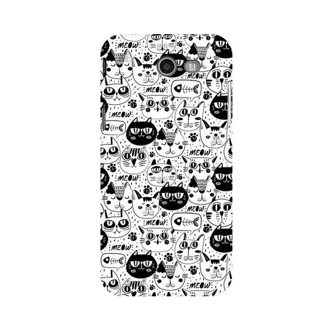 Cute Cats Pattern Samsung J3 2017 Phone Cover