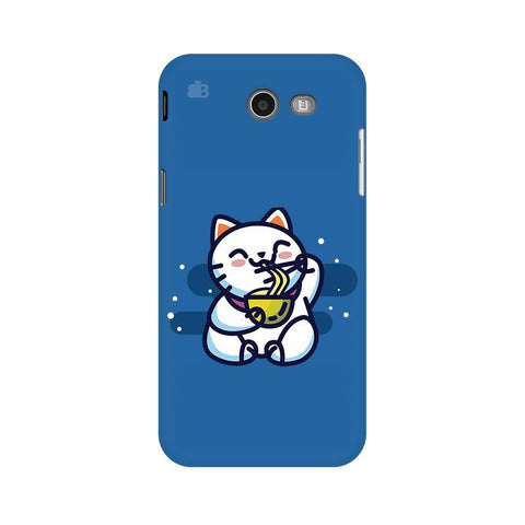 KItty eating Noodles Samsung J3 2017 Phone Cover