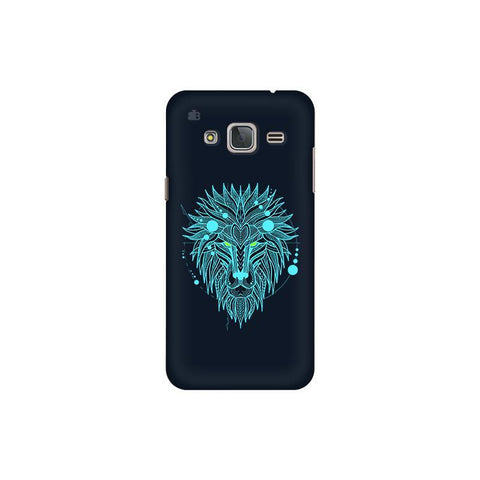 Abstract Art Lion Samsung J3 Pro Cover