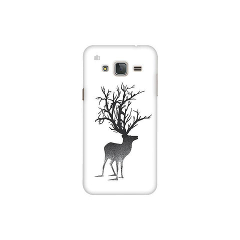 Abstract Deer Samsung J3 Pro Cover