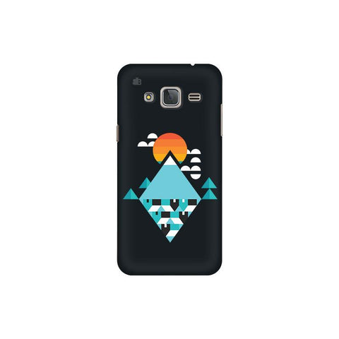 Abstract Mountains Samsung J3 Pro Cover