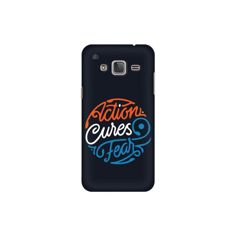 Action Cures Fear Samsung J3 Pro Cover