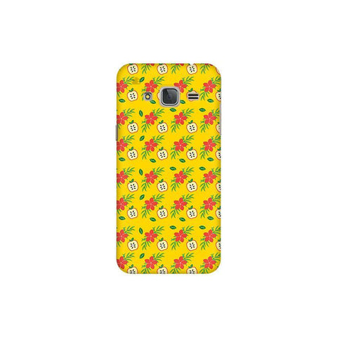 Apples & Flowers Samsung J3 Pro Cover