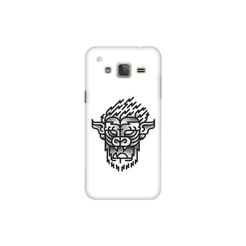 Arty Lion Samsung J3 Pro Cover
