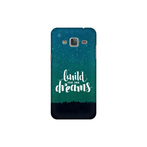 Build your own Dreams Samsung J3 Pro Cover