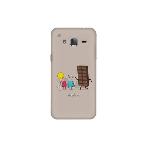 Choco late Samsung J3 Pro Cover