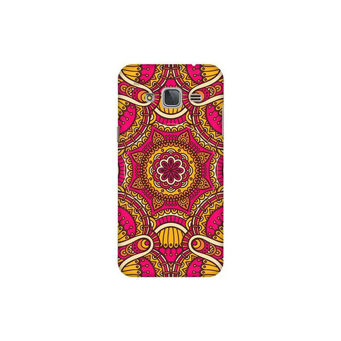 Colorful Ethnic Art Samsung J3 Pro Cover