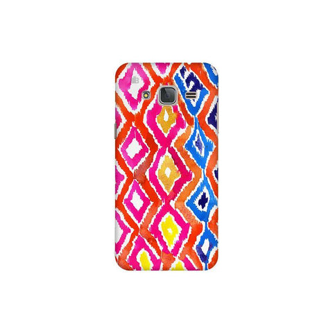 Colorful Ikat Samsung J3 Pro Cover