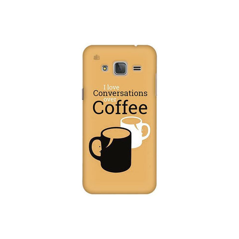 Convos over Coffee Samsung J3 Pro Cover