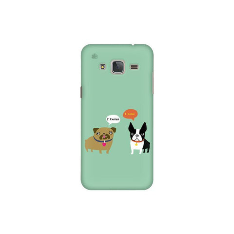 Cute Dog Buddies Samsung J3 Pro Cover