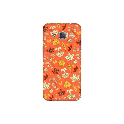 Cute Leaves Pattern Samsung J3 Pro Cover