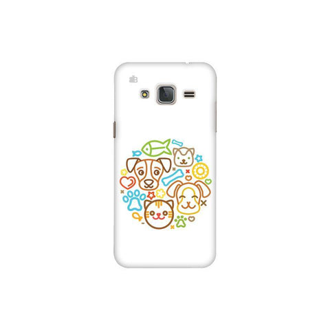 Cute Pets Samsung J3 Pro Cover