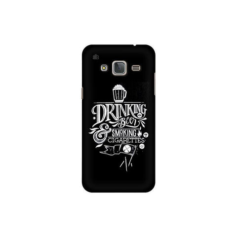 Drinking Beer Samsung J3 Pro Cover