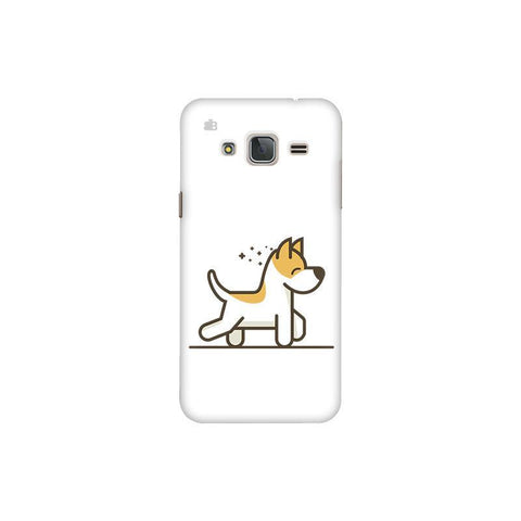 Happy Puppy Samsung J3 Pro Cover