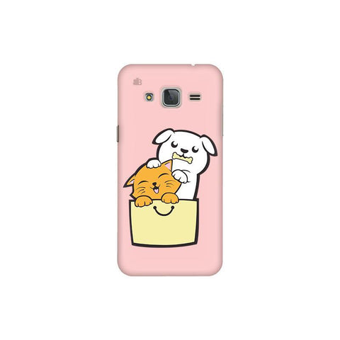 Kitty Puppy Buddies Samsung J3 Pro Cover