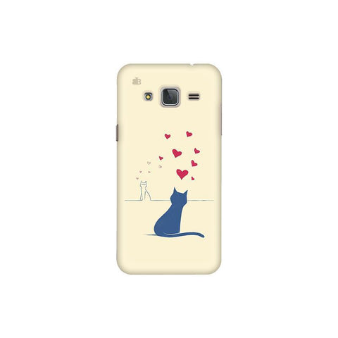 Kitty in Love Samsung J3 Pro Cover
