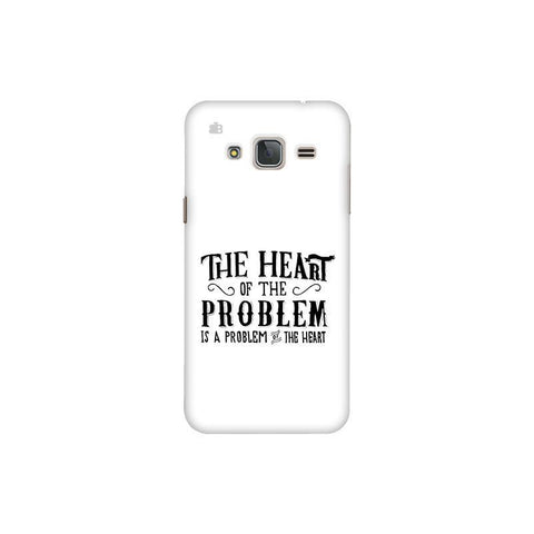 Problem of the Heart Samsung J3 Pro Cover