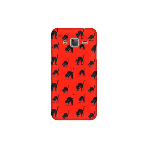 Scary Cats Samsung J3 Pro Cover