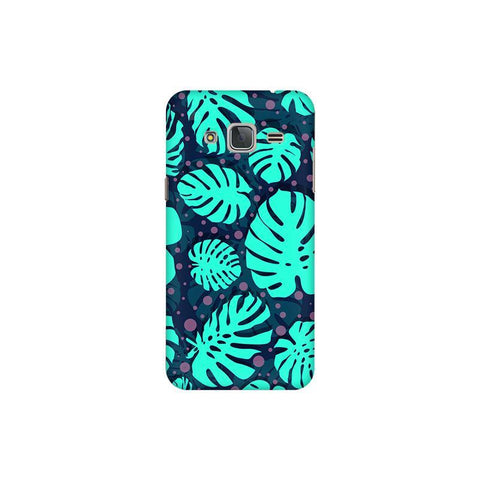 Tropical Leaves Pattern Samsung J3 Pro Cover