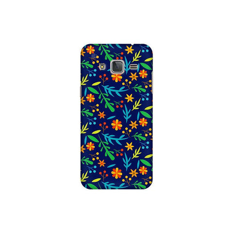 Vibrant Floral Pattern Samsung J3 Pro Cover