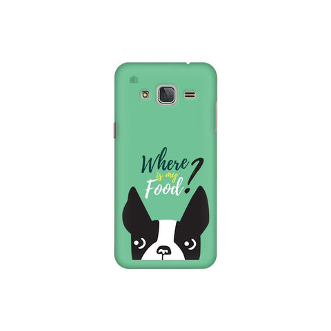Where is my Food Samsung J3 Pro Cover