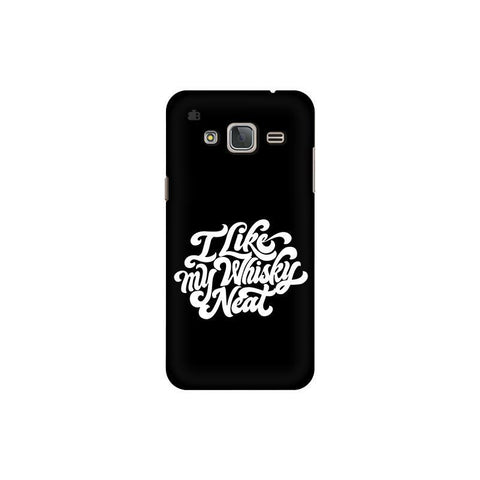 Whiskey Neat Samsung J3 Pro Cover