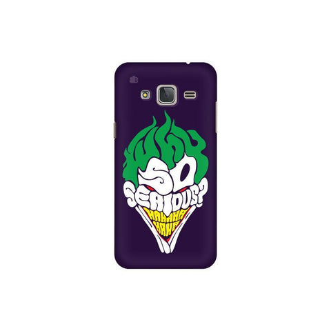 Why So Serious Samsung J3 Pro Cover